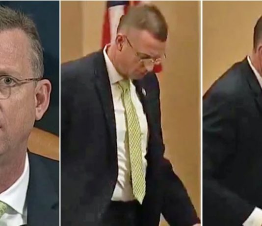 doug collins storms out impeachment hearing