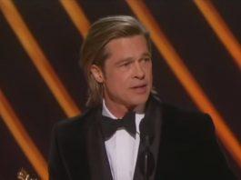 Brad Pitt Oscars Ainsley Earhartdt Fox News