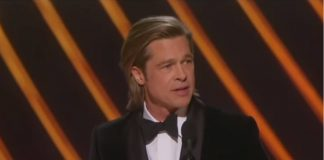 Brad Pitt Oscars Ainsley Earhartdt Fox News
