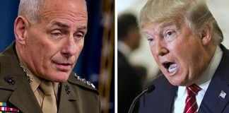 Donald Trump attacks John Kelly on Twitter