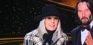 Diane Keaton Oscars Academy Award outfit